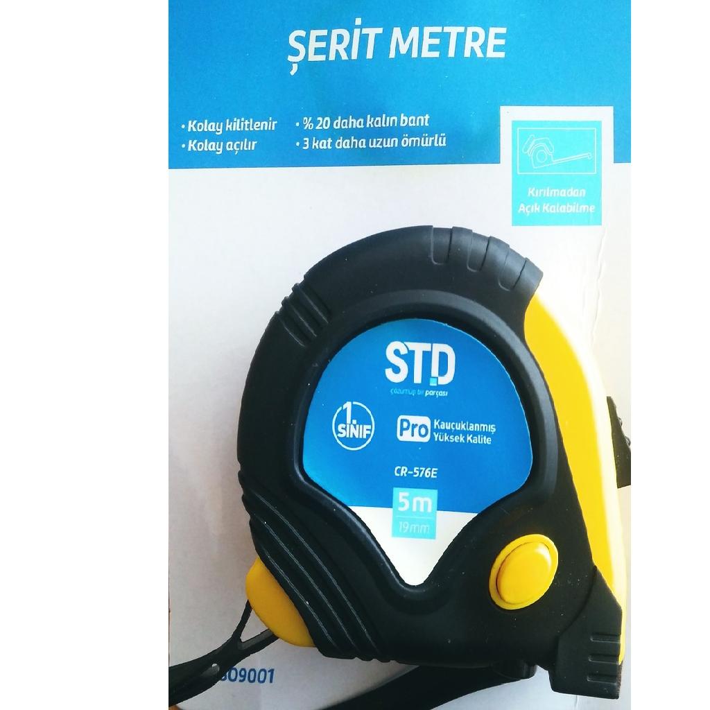 STD Şerit Metre 5 Metre